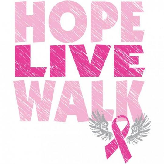 walking Breast cancer